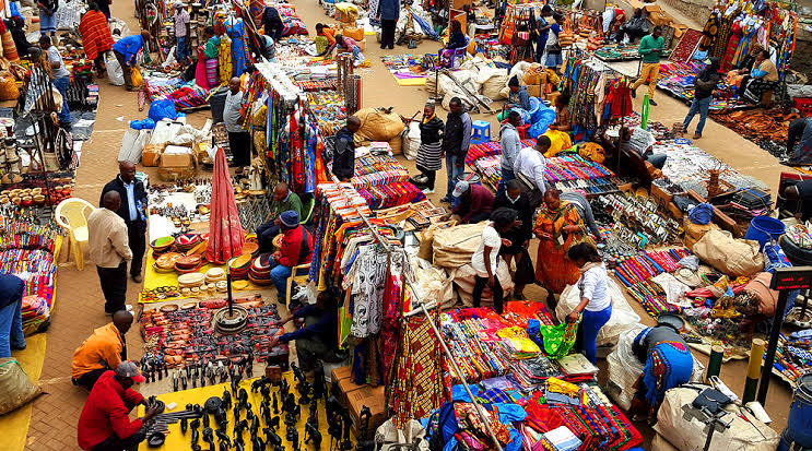 african craft and wear shopping